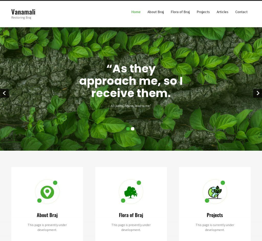 vanamali.net